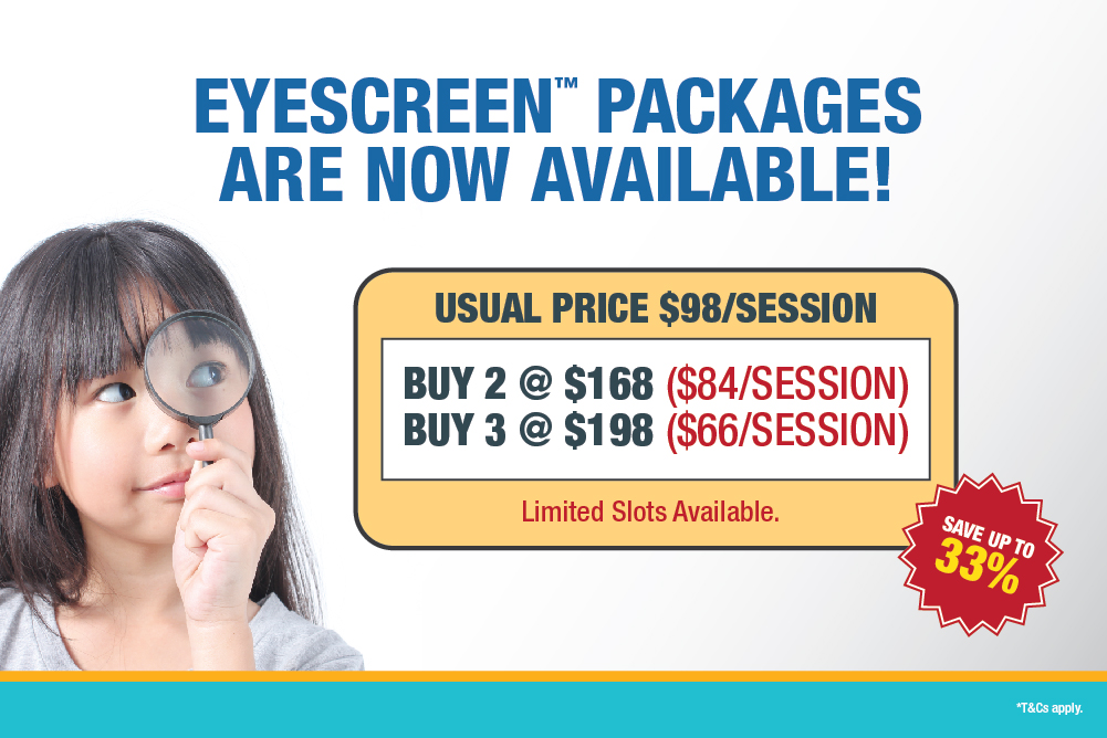 Eyescreen Package